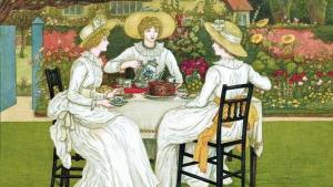 Afternoon Tea in White * Thé de l'après-midi en blanc @ Birgitte Hinnerskov's home